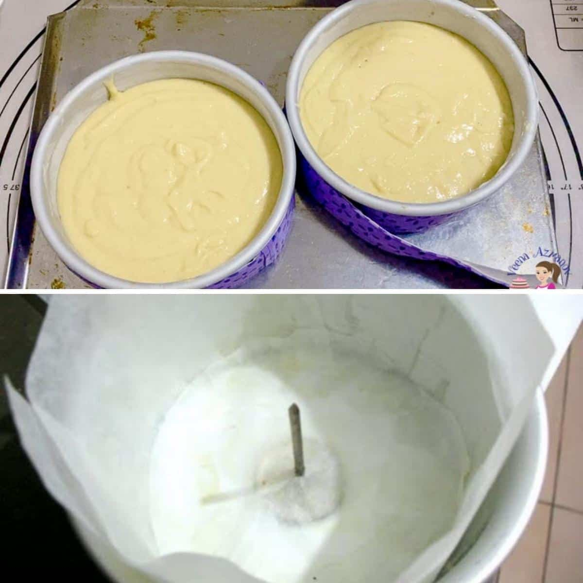 Baking tips - showing how to use baking strips and heating core for baking.