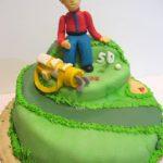Golf inspired cake