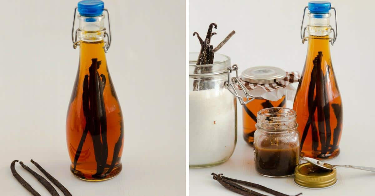 Homemade Vanilla Extract - Baking Basics