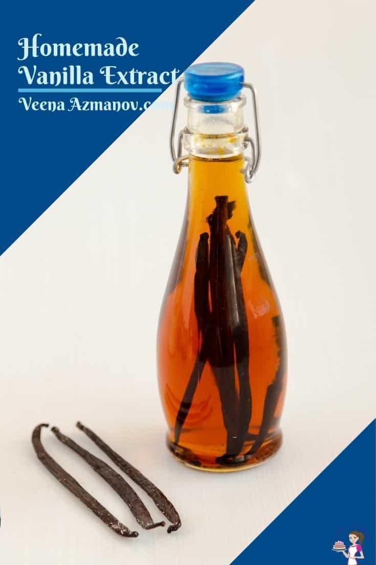 Pinterest image for vanilla extract