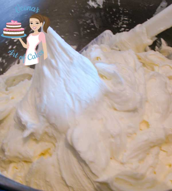 This is velvet American Buttercream is my go to buttercream in summer. Smooth as butter and lush as velvet. The secret is my procedure so watch carefully and enjoy the recipe