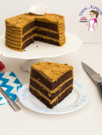 The Best Chocolate Mud Cake Recipe with Caramel Buttercream