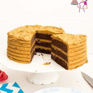 Chocolate mud cake.