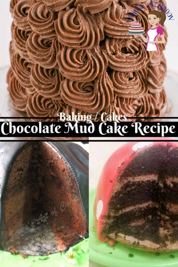 If you looking for the most chocolaty, rich, dense and easy Chocolate Mud Cake? This is it! I've got two simple yet easy methods for you to make this cake. It's so good you wont' need any frosting but if you must - I'd say go with some indulgent dark chocolate ganache.