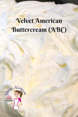 Velvet American Buttercream recipe (ABC) – Almost melts in your mouth