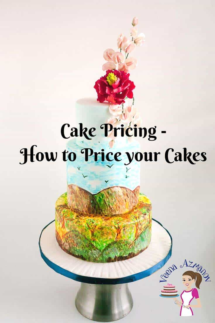 Cake pricing or how to price your cakes can be the most challenging and intimidating question to most beginners in the cake decorating world. In this post I have shared how to analyze, the methods I use as well as how to calculate the final price. via @Veenaazmanov