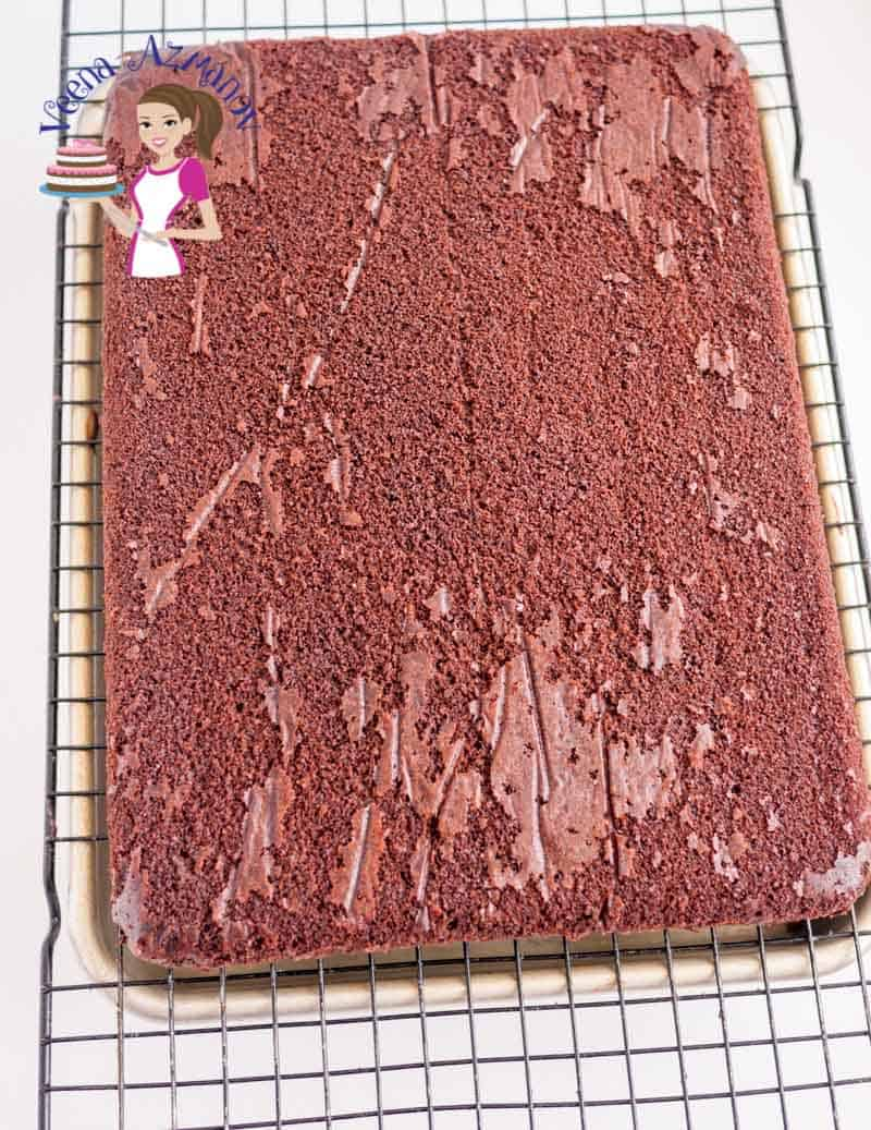 One of the most important things necessary to sculpt a novelty cake is a perfect base. A cake that can be cut and manipulated without falling apart. A cake with soft crumb and yet taste delicious. This chocolate cake perfect for carving will prove the best sculpting cake recipe for you.