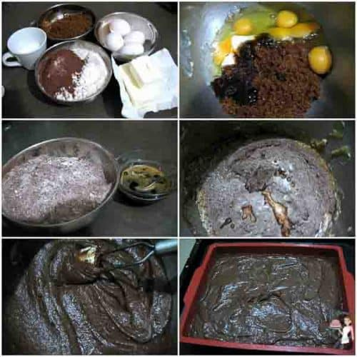 Dense Chocolate Cake Perfect for Carving is not as dense as a pound or sponge cake but not as delicate as a rich moist cake. However, I strongly recommended that you freeze the cake for an hour at least before you carve it.