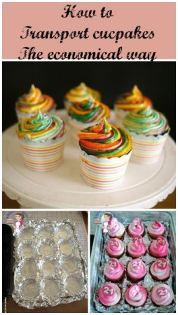 How to transport Cupcakes – the most economical way