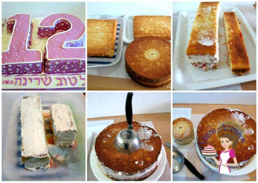Number cakes aren't something we make often so buying a pan for one use becomes rather a waste here's how to make an easy number cakes one two or twelve