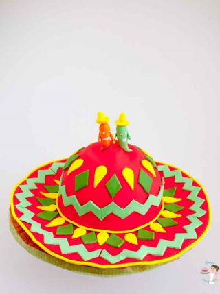 Mexican Hat Cake Tutorial