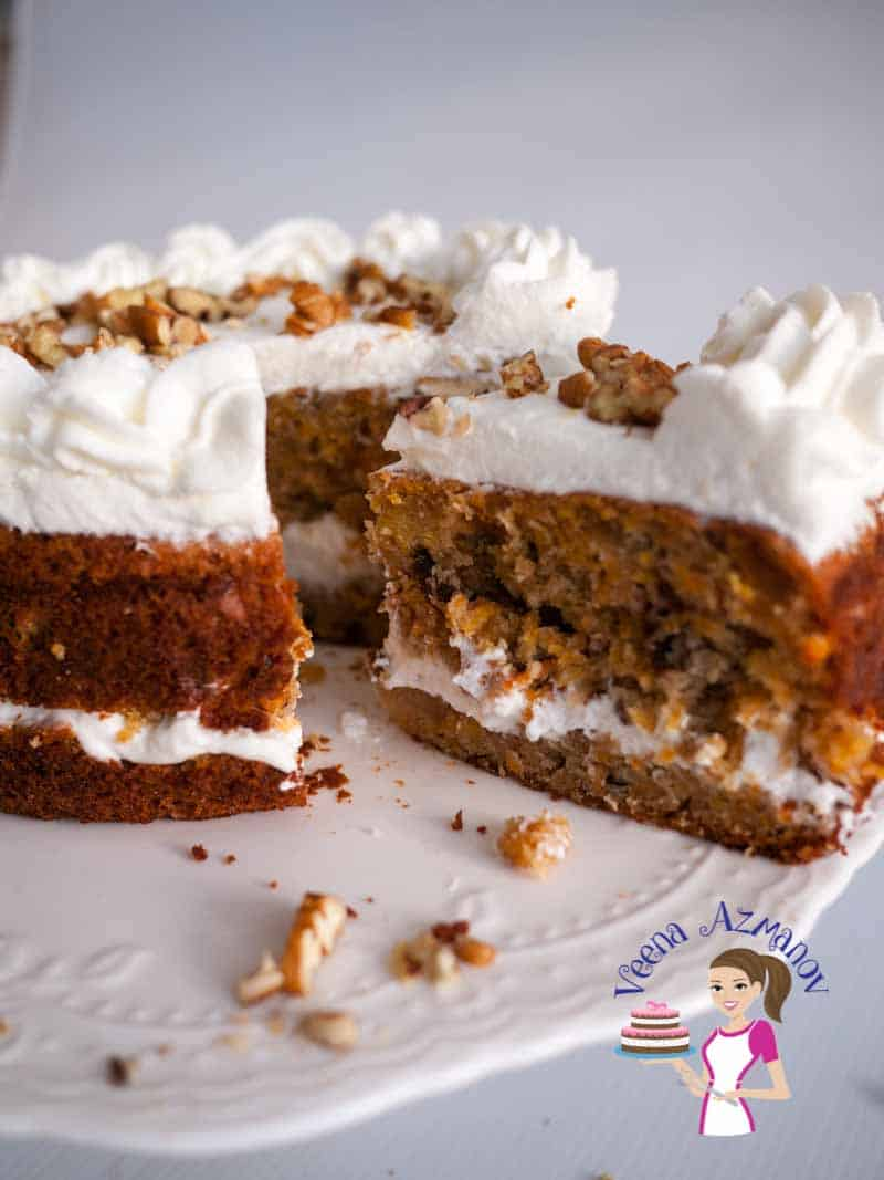 This moist carrot cake is my simple, easy and effortless one bowl recipe that you will enjoy making over and over again. It taste delicious on it's own but can be dressed with my luscious cream cheese frosting to create an exotic dessert.