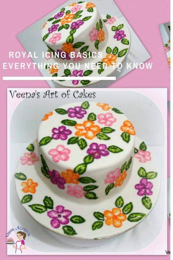 Best Royal Icing for outlining and flooding your sugar cookies.