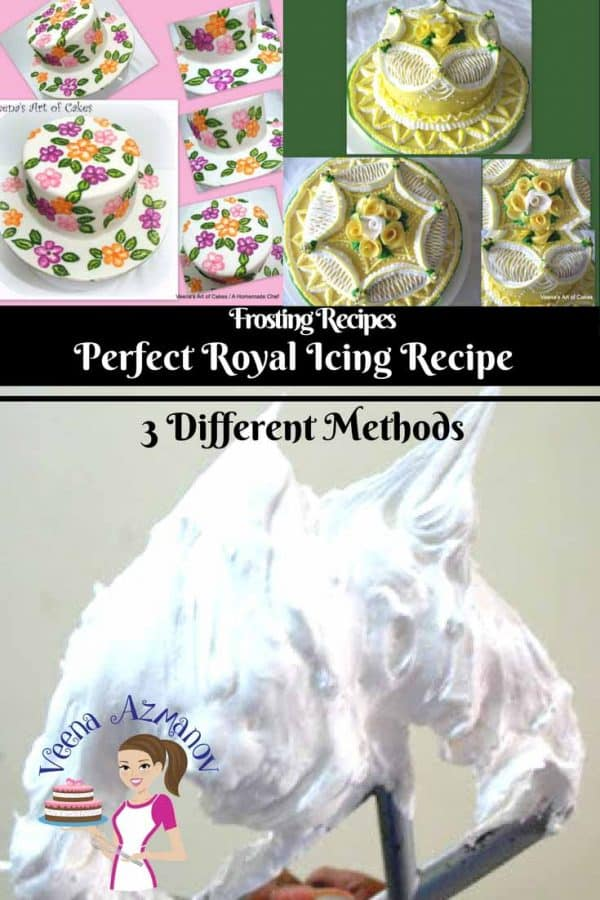 Royal Icing Recipe is a quick and easy icing that dries hard. It's very sweet because it's mostly powder sugar and Egg whites. It has endless uses in the cake and cookie decorating world. Once you learn the right method to make it, and the right consistency that works for you, it can be a fun experience.