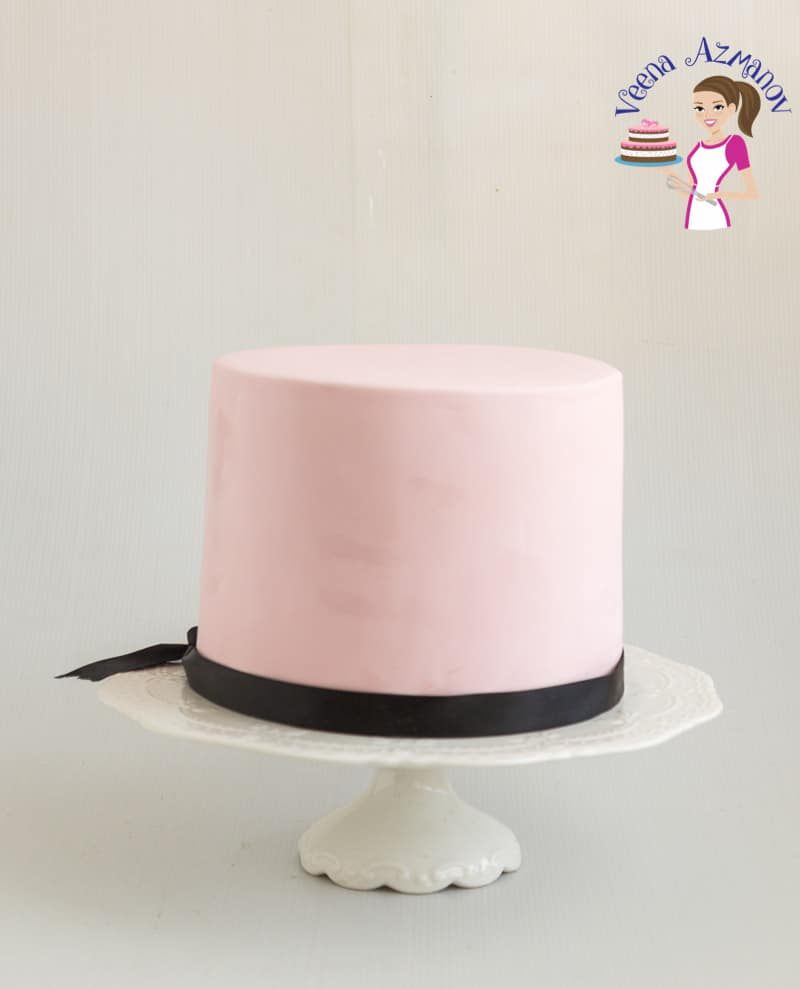 An Image optimized for Social Sharing for the BEST Homemade Fondant Recipe, this rolled fondant is simple, easy and effortless and take no more than 10 minutes to make