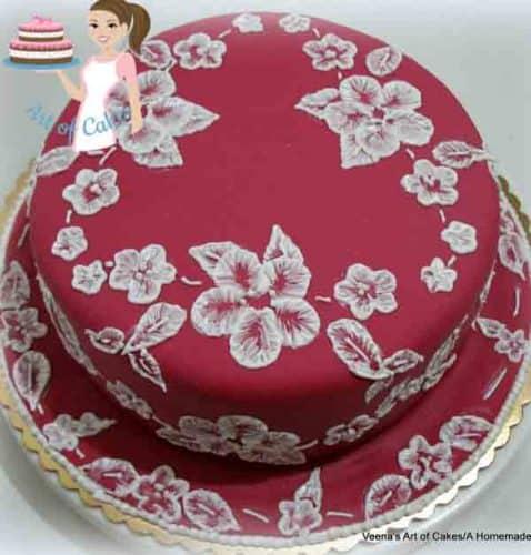 Veena Art Of Cake Fondant Recipe : DIY Cake Boards - Veena Azmanov