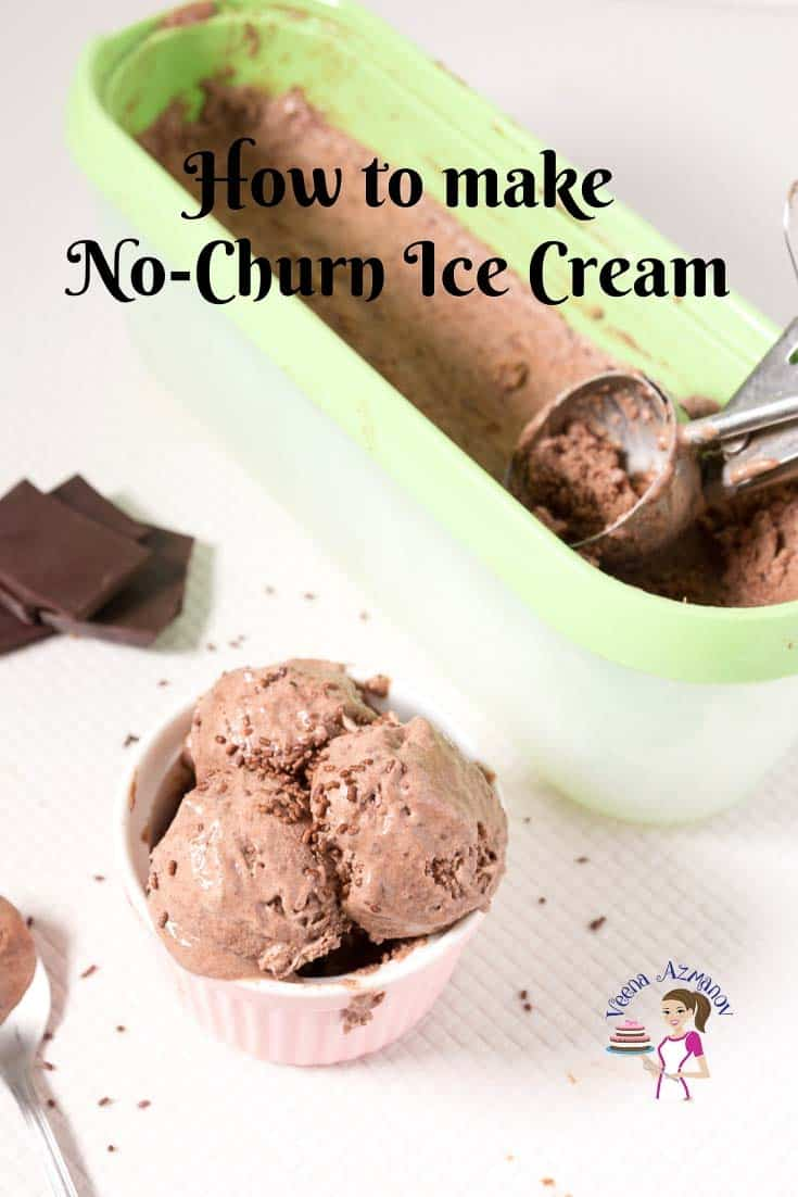Progress Pictures and Video - How to make the best no-churn ice cream