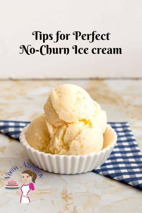 Tips for making a homemade ice cream - no-churn method