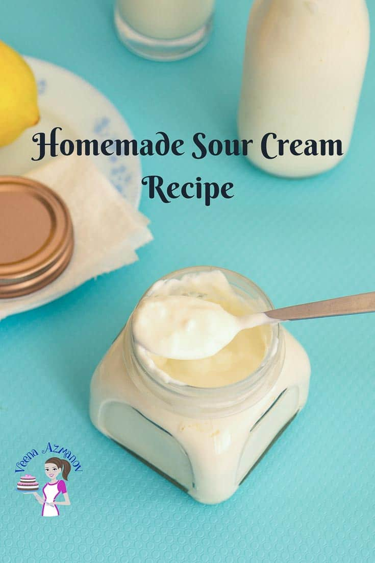 Sour Cream Recipe Homemade with progress pictures and video