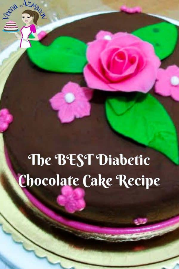 This Diabetic Chocolate Cake recipe is a chocolate lovers dream, A simple, easy and effortless recipe that makes a rich, sweet, delicious and moist cake loaded with a rich creamy chocolate frosting. With simple ingredients that can be easily sourced will have you making this cake more often than you plan.