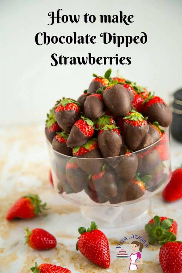 Chocolate Covered Strawberries Recipe Veena Azmanov