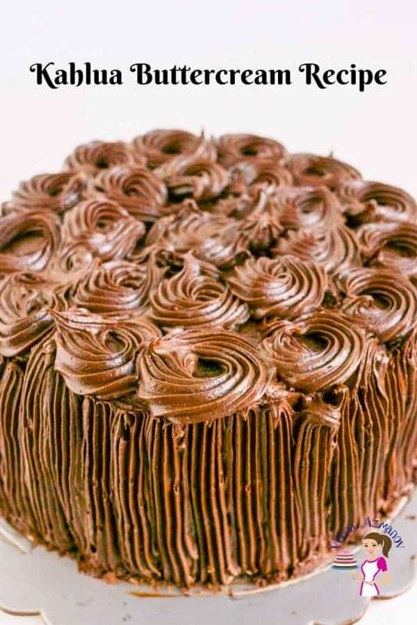 This ultimate chocolate chiffon cake is layered with Kahlua buttercream frosting for a decadent rich chocolate celebration cake.
