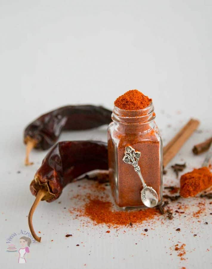 A Shawarma spice mix is a classic Middle Eastern seasoning used in many meat dishes. The rich aroma comes from the use of exotic spices such as cinnamon, allspice, cloves, nutmeg, and other warm spices. Making it homemade is simple easy and an effortless way of adding more zing to your favorite recipes. #shawarmaspice #spicemix #shawarma #shwarma #spices #spiceblend