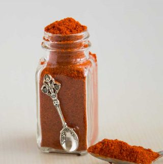 A Shawarma spice mix is a classic Middle Eastern seasoning used in many meat dishes. The rich aroma comes from the use of exotic spices such as cinnamon, all spice, cloves, nutmeg and other warm spices. Making it homemade is simple, easy and effortless adding more zing to your favorite recipes with just a little sprinkle of Homemade Shawarma Spice mix.
