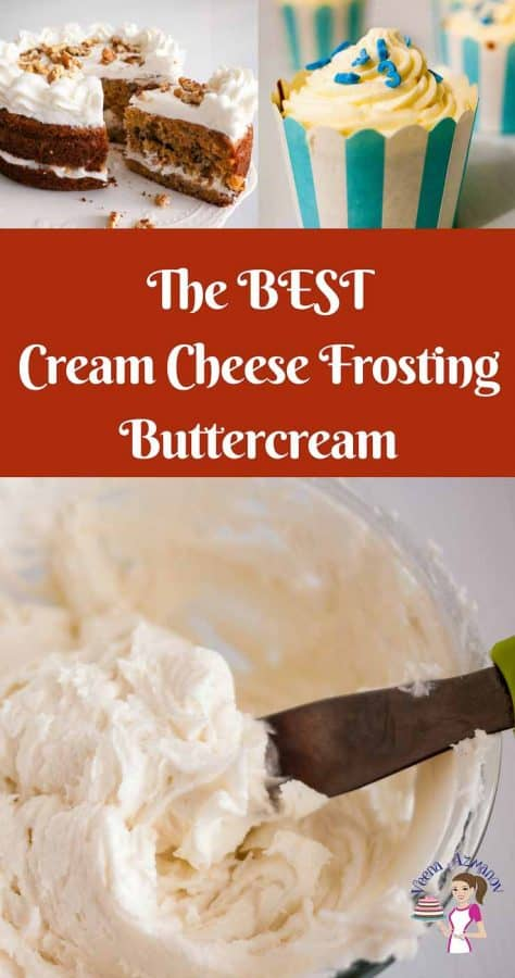 A perfect cream cheese frosting is an absolute treat over cakes or cupcakes and can makes a huge difference to the over all effect. This simple, easy and effortless classic cream cheese frosting is made from scratch and whipped to a light ad fluffy texture that just melts in the mouth.