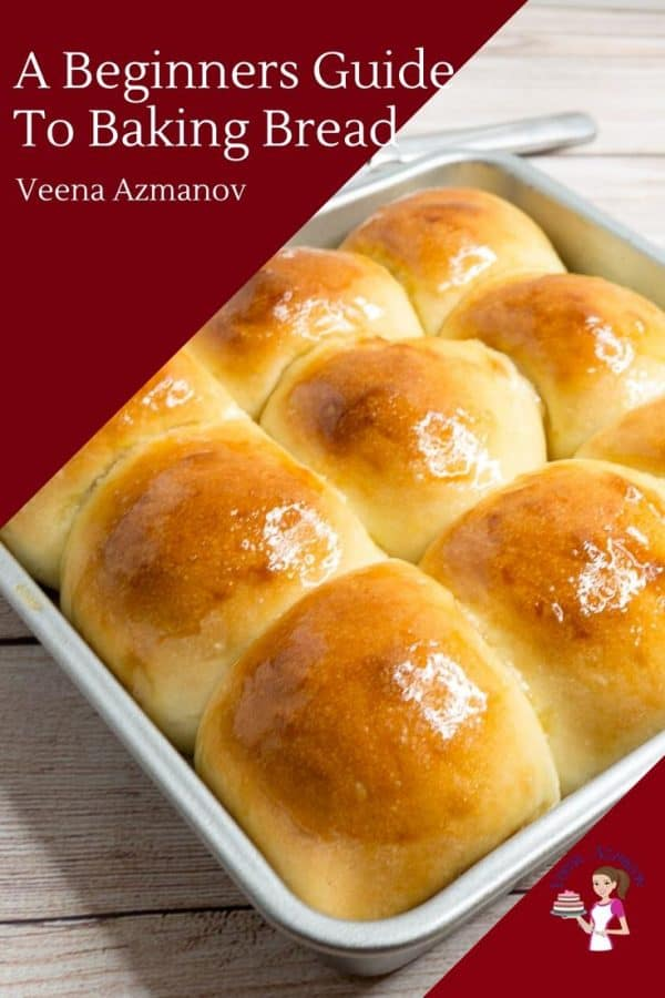 A tray of dinner rolls.