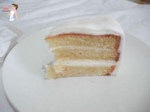 Vanilla Cream Cake (