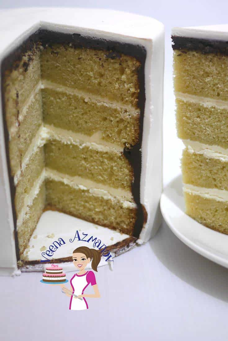 Make a delicious vanilla based cake with fresh cream aka Vanilla cream cake.