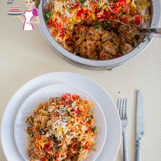 An ultimate favorite of most Indians would be a Biryani. This Easy and healthy Indian Chicken Biryani recipe is simple, easy and a much healthier way to make this classic rice and marinated chicken layered one pot dish.