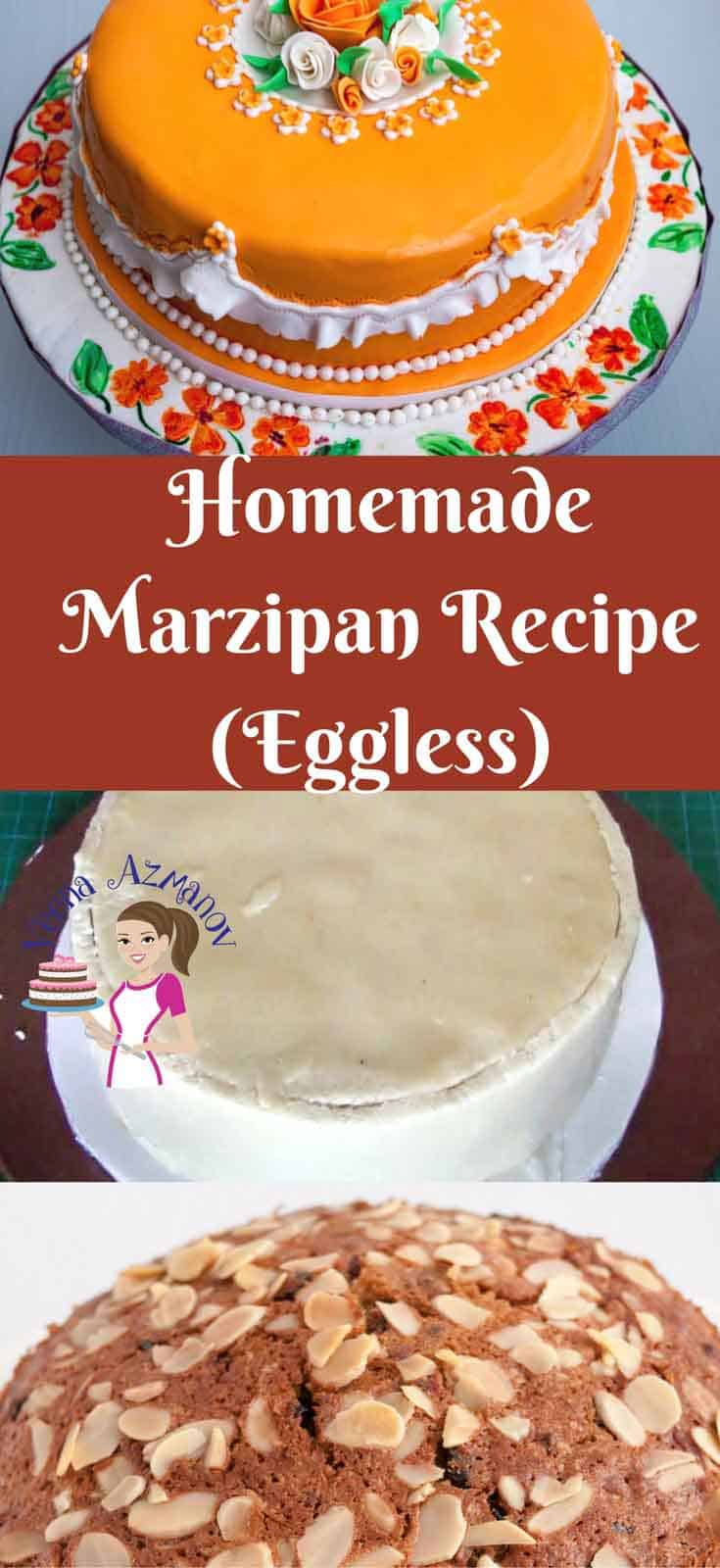 Marzipan or Almond Paste is very easy to make at home in 5 to 10 minutes and needs so special skills or equipment. There is so much you can do with Marzipan from adding it in baked pastry to decorating a custom cake with marzipan or even making mini marzipan treats for kids in shapes. Try adding them to your next batch of Chocolate truffles.