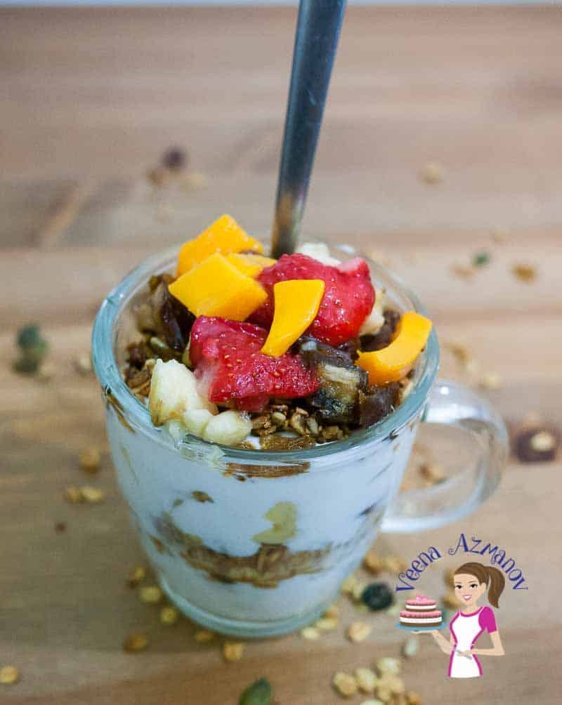 Healthy Fruit and Nuts Granola is not just a healthy but also a nutritious way to start your day. Adding you family favorites is the best way to get every member in the family to eating right.