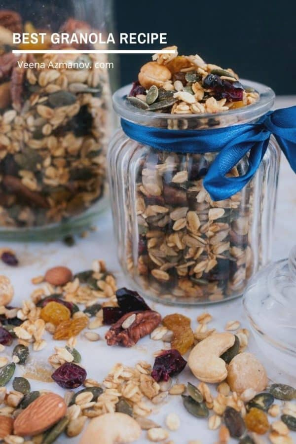 How to make Granola at home perfectly every single time