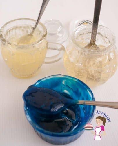 Homemade Cake Decoration Without Cream : Homemade Piping Gel Recipe - Two Methods - Veena Azmanov