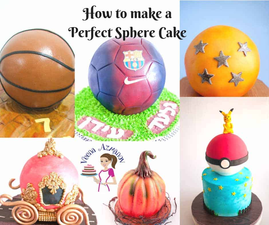 How to make a Perfect Sphere Cake Ever Single Time