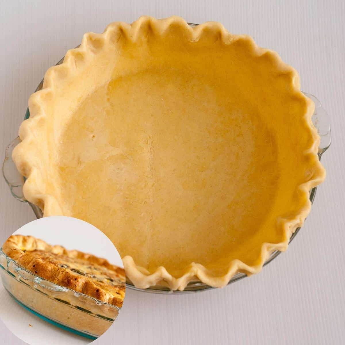 A pie crust.