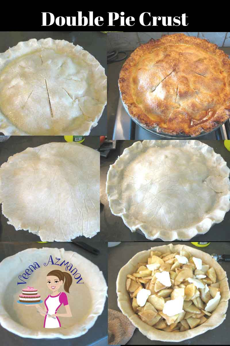 Image showing a double Pie Crust - Apple Pie using a bottom and a top crust baked to perfection.