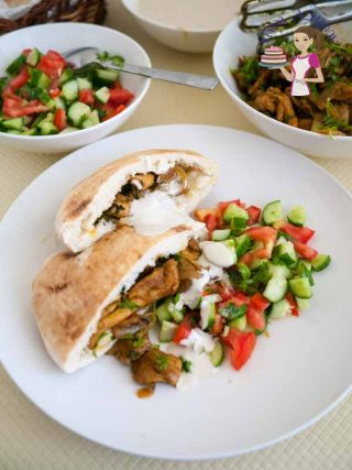 Quick Homemade Shawarma Chicken