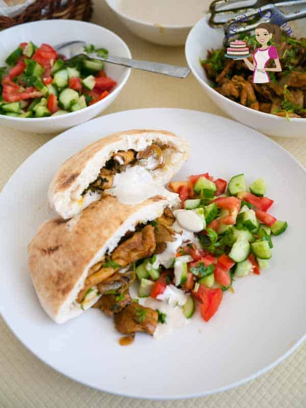 Shawarma Chicken is a middle eastern fast food, but it actually takes hours to marinate and cook. This quick version will have your meal ready in 20 minutes.