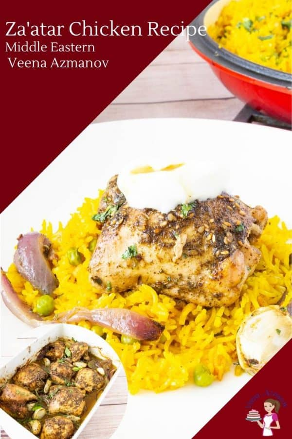 How to make a baked chicken with Middle Eastern Zaatar Spice Mix