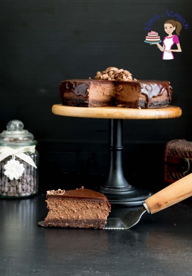 Dark Chocolate Cheesecake Recipe Veena Azmanov