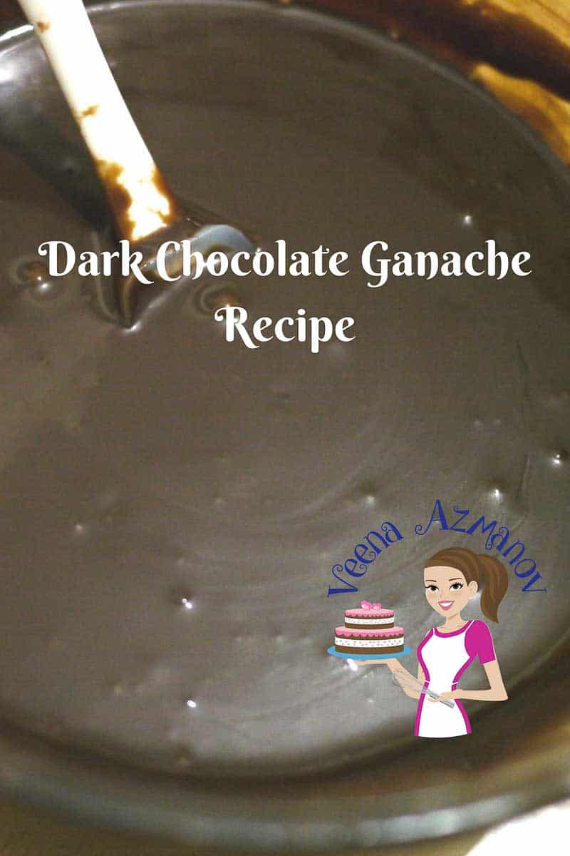 Chocolate Ganache Recipe - Dark, Milk or White Chocolate - Veena ...