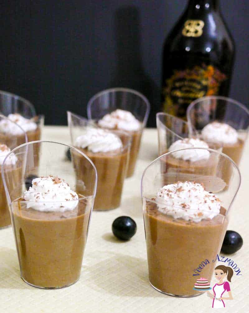 This eggless chocolate mousse is my take on the classic chocolate mousse recipe. Made with eggless pastry cream as a base, it has a light and airy texture from the whipped cream and a velvety mouth feel from the deliciously luxurious chocolate. A simple easy and effortless recipe to make in 30 minutes or less.