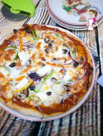 Homemade Pizza Dough Recipe aka Best Pizza Crust Ever!
