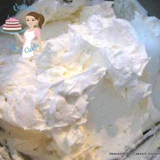 Swiss Meringue Buttercream - this is the perfect buttercream recipe as an alternate to anyone that does not like sweet buttercream by Veena's Art of Cakes