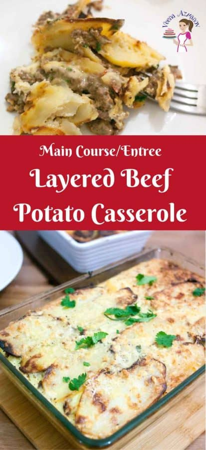 Learn to make this classic ground beef with baked potato slices layered in a casserole