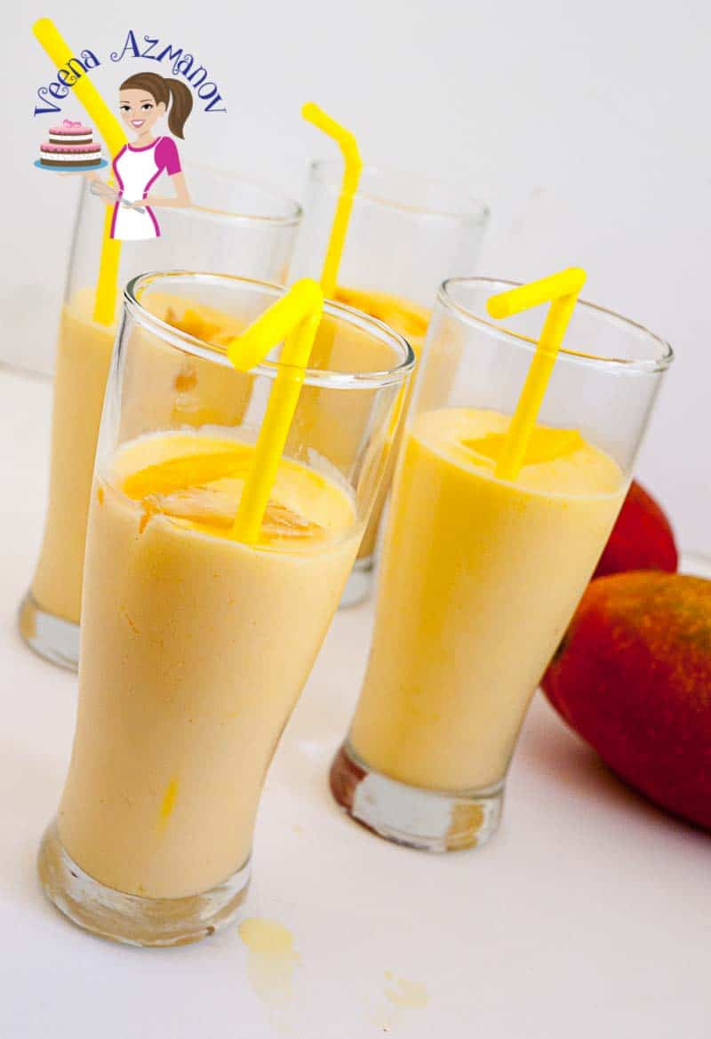 Mango Lassi Recipe – Mango Yogurt Drink